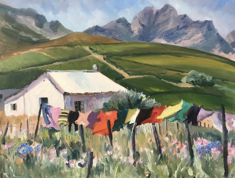 South Africa.  Washing Day.