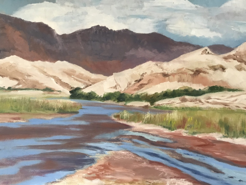 Argentina. Calchaqui river.