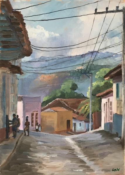 Cuba.  Trinidad de Cuba.