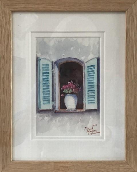 France & Corsica.  Provencal window.