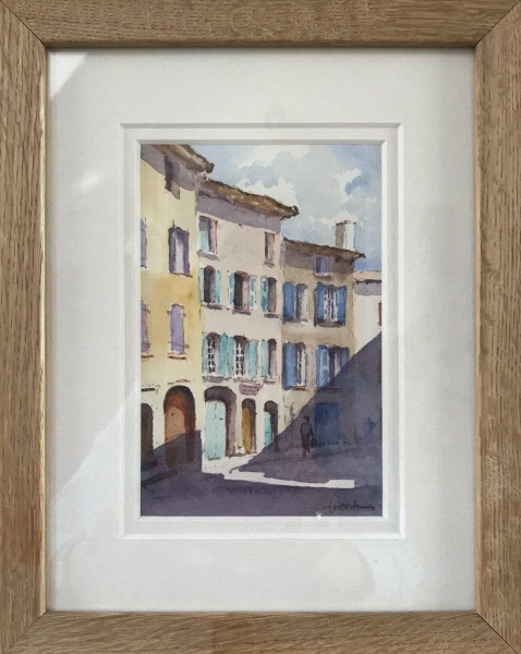 France & Corsica.  Street in Provence.