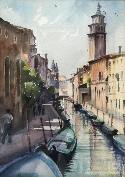 Italy.  San Barnaba, Venice.