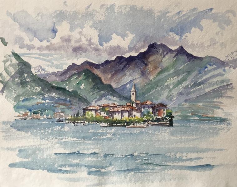 Italy.  Isola dei Pescatori, Maggiore.