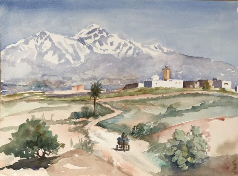 Morocco.  Distant Atlas.