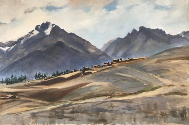 Peru. High Andean landscape.