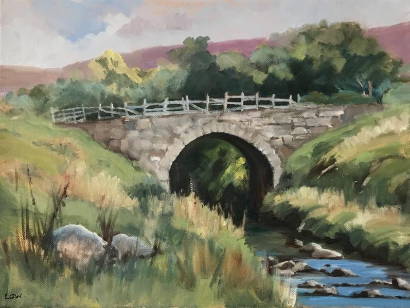 Scotland.  Suisgil bridge, Helmsdale.