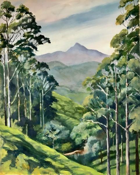 Sri Lanka.  Adam's Peak.